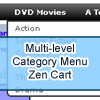 Multi-level Category Menu